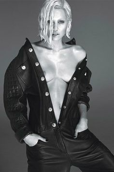 Miley Cyrus goes Topless for 'W Magazine' Shot by Mert and Marcus