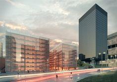 Estúdio 41 Arquitetura   Edifício Anexo do BNDES