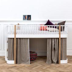 Lit mezzanine bas Wood Collection