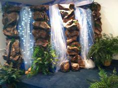 waterfall decoration | Indoor waterfall 2013