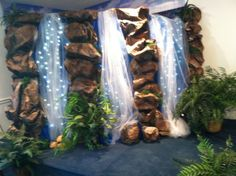 waterfall decoration | Indoor waterfall 2013