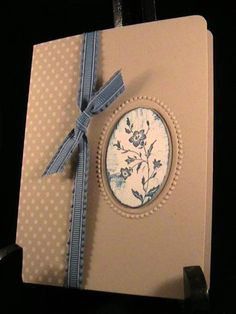 Charming stamp and designer embossing folder