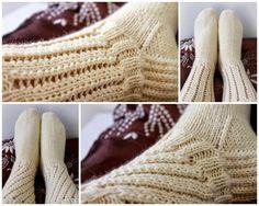 Noniin, syksyn ensimmäiset sukat ovat valmiit!   Toiset on jo puikoilla, nopeasti neulonta vie mennessään kun vain aloittaa..   Sukat tein...