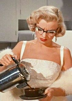 I'm with Marilyn Monroe. Send coffee. Send ALL the flipping coffee