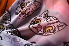 Terrorcats Silk Scarf