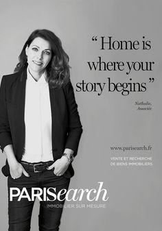 Nathalie Tartour, Associée de l'agence PARISEARCH. Un réseau établi et des collaborations variées pour trouver un appartement en moins de 30 jours