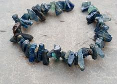 AAA Blue kyanite Beads, Natural Stone Beads, Rough Gemstone Briolettes, Raw Gemstone Beads 6.5 '' Beads Raw Gemstones, Gemstone Beads, Semi Precious Beads, Blue Beads, Bead Crafts, Natural Stones, Beaded Bracelets, Unique Jewelry, Handmade Gifts