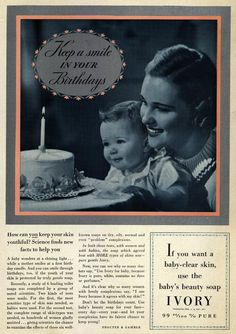 Keep a smile in your Birthdays 1937
