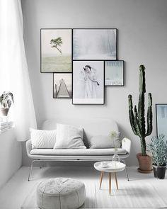Composición cuadros perfecta - Covitaca Handmade blog