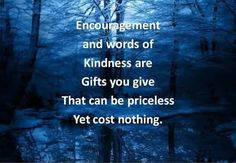 Inspirational Words Of Kindness | Encouragement And Words Of Kindness