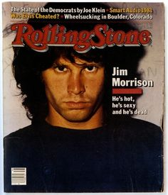 Jim Morrison Cover on Rolling Stone (1981)