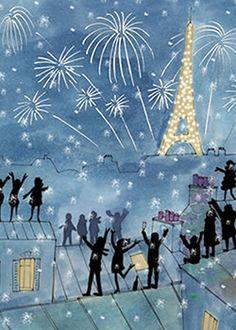 14 juillet sur un rooftop !!!! Bastille Day Bash