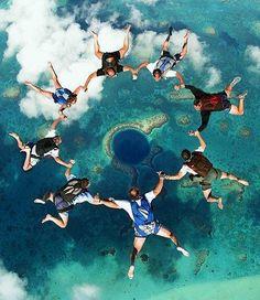 Awesome shot!! Blue Hole, Belize
