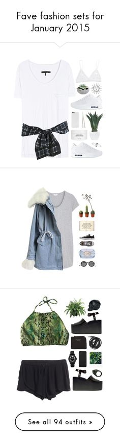 """""""Fave fashion sets for January 2015"""" by virty8 ❤ liked on Polyvore featuring rag & bone, 3.1 Phillip Lim, Agave, NIKE, Christofle, Byredo, Amber Sceats, Hanky Panky, Splendid and Crate and Barrel"""