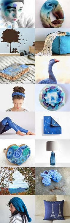 Out of the blue by Ayala Binor on Etsy--Pinned with TreasuryPin.com