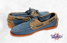 Wakai ライフスタイル Boat Shoe, Haiti is available at Mezzo by Metrox Group