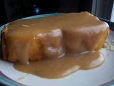 spiced apple cake with eggnog sauce recipe dishmaps cake spiced apple ...