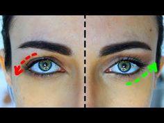 Huda Beauty New Nude Eyeshadow Palette Droopy Eye Makeup, Makeup For Downturned Eyes, Droopy Eyes, Natural Eye Makeup, Eye Makeup Tips, Beauty Makeup, Makeup Eyes, Huda Beauty, Eyeliner For Hooded Eyes