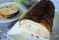 Nadýchaná roláda s marmeládou hotová za 15 minut Yummy Recipes, Banana Bread, Sweets, Chef, Mascarpone, Sweet Desserts, Cool Desserts, Fruit Pie, Rouladen