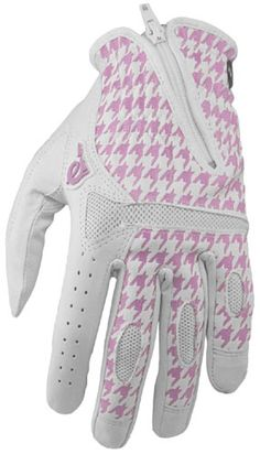 Pow Gloves Townie Golf Glove Womens Pink Hounds