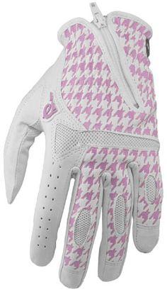 Pow Gloves Townie Golf Glove Womens Pink Hounds