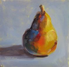 """""""Pears, pears and more pears...."""" - Original Fine Art for Sale - © Laurie G. Miller"""