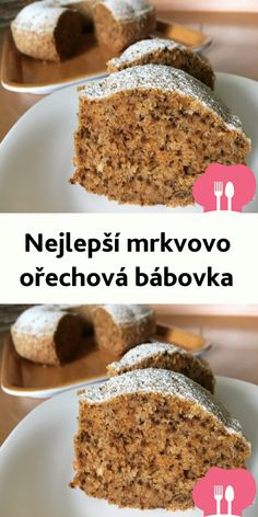 Nejlepší mrkvovo orechová bábovka Ham, Banana Bread, Smoothies, Cheesecake, Deserts, Clean Eating, Food And Drink, Dessert Recipes, Menu
