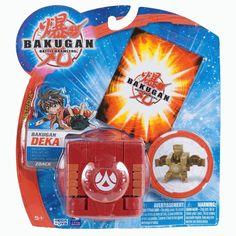 Bakugan ZOACK Deka New Vestroia Red Pyrus Bigger Brawlers MISP 2009 Trap Sealed picclick.com #Bakugan #Cyberontix