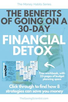 Have you ever gone on a physical detox and felt the benefits of your body gettin. Money Saving Challenge, Money Saving Tips, Budgeting Finances, Budgeting Tips, Financial Goals, Financial Planning, Pay Yourself First, Planning Budget, Managing Your Money
