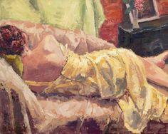 Woman Sleeping oil painting by Andrew Daniel by ArtOfAndrewDaniel