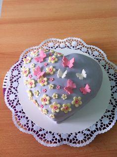 Muttertags torte Cupcakes, Food And Drink, Birthday Cake, Plates, Tableware, Desserts, Fondant Cakes, Cake Cookies, Bakken