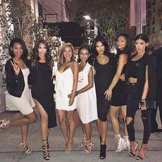 "Olivia Pierson | Blogger on Instagram: ""Birthday dinner for @sharinagutierrez with the girls! @gelilee87 @tamietran @karrueche @nataliehalcro @justtnic """