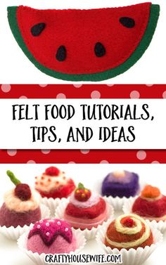 Learn how to make felt food with this huge list of felt food tutorials, felt food patterns, and felt food ideas. DIY crafts like this for kids are the best and they make awesome handmade gifts! My kids LOVED playing with felt foods when they were younger.