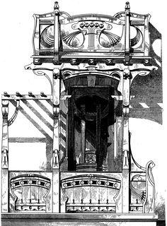 Pin By Olga Matveeva On Drawing Fasades Details Art Nouveau