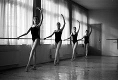 Ballet class by PhilKolchin, via Flickr