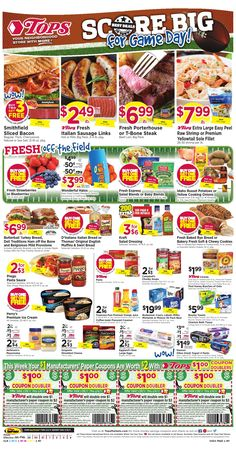 Get a free 50 tops gift card with a new buffalo news coupon code tops ad preview weekly scan starting 85 811 is live fandeluxe Image collections