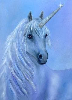 Healing Unicorn Painting - Healing Unicorn Fine Art Print