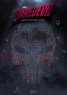 The Punisher. From Marvel and Netflix Daredevil Season 2 Daredevil Season 2 Poster, Netflix Daredevil, Netflix Marvel, Marvel Comics Art, Marvel Heroes, Comic Movies, Marvel Movies, Daredevil Punisher, Punisher