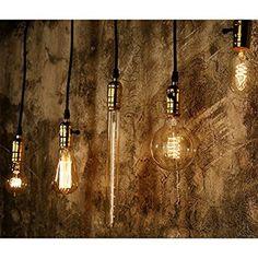 E27 40W 220V Ampoules Rétro style industriel Edison Lamp