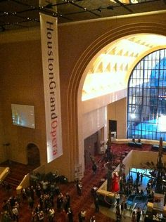 I plan on goin here soon to see my 1st Opera! #Houston Grand Opera