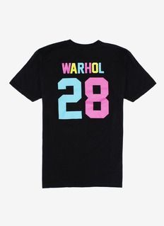 Put it up in neon signs and show your support for the pop artist Andy Warhol with this cotton T-shirt by LPD New York. New York Teams, Pant Shirt, Jean Shirts, To My Future Husband, Fashion Prints, Cool T Shirts, Branding Design, Shirt Designs, Brands Online