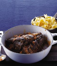 Wine-Braised Chuck Roast with Onions