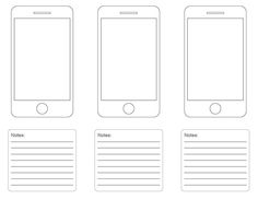 http://webdesignledger.com/freebies/10-free-printable-web-design-wireframing-templates
