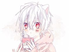 已嵌入 Anime Chibi, Kawaii Chibi, All Anime, Me Me Me Anime, Anime Guys, Neko Boy, Vocaloid, Boy With White Hair, Pokemon