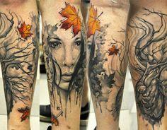 Realism Face Tattoo by U Gene   Tattoo No. 12447