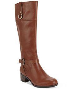 Bandolino Boots, Carmine Tall Riding Boots - Shoes - Macy's