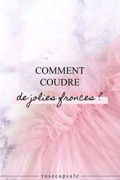 Comment coudre de jolies fronces ? #couture #couturefacile #diy