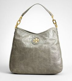 Tory Burch City Hobo - Love the elephant gray color.