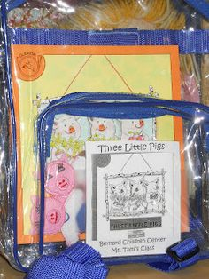 33 best pre k take home book bags images on pinterest literacy learning and teaching with preschoolers take home book bags publicscrutiny Gallery