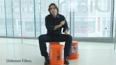 Justin Hines from The Juilliard School shows us the basics (and more!) of bucket drumming.